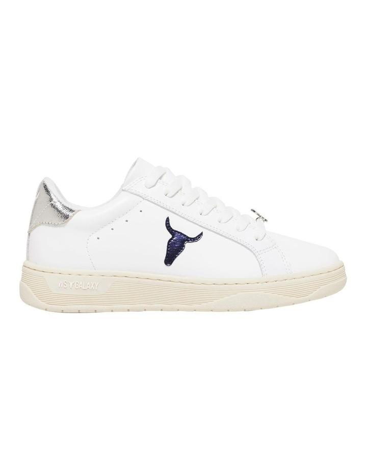 Galaxy-W White Navy Silver Sneaker image 1