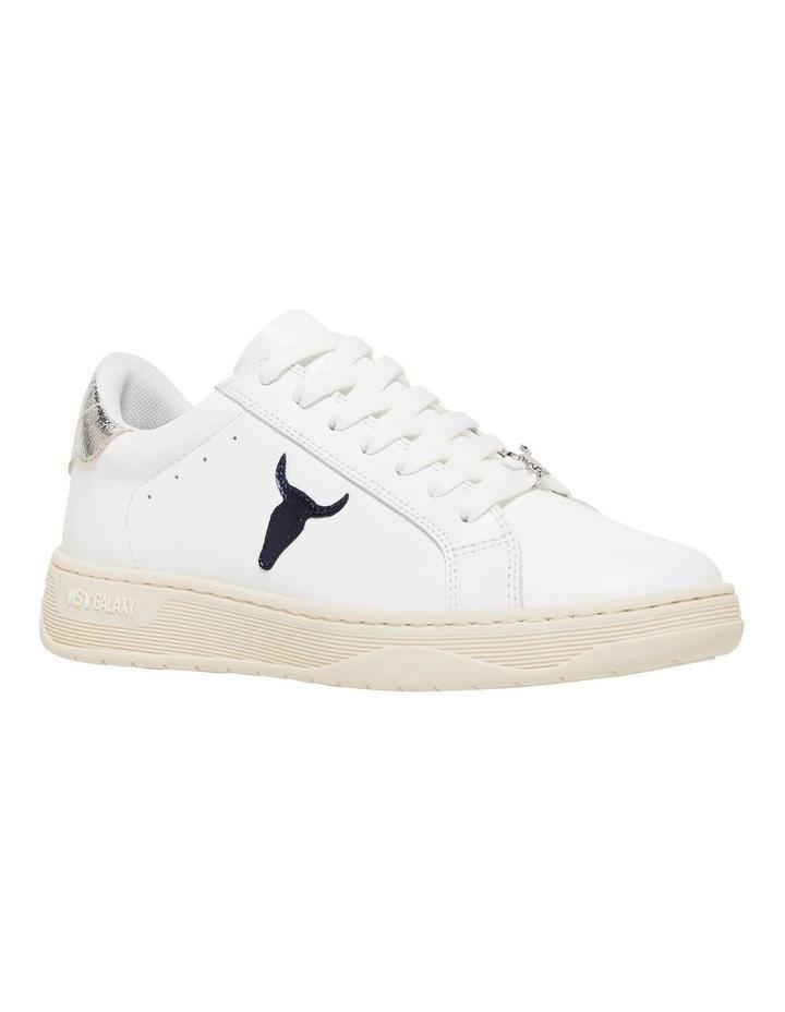 Galaxy-W White Navy Silver Sneaker image 2