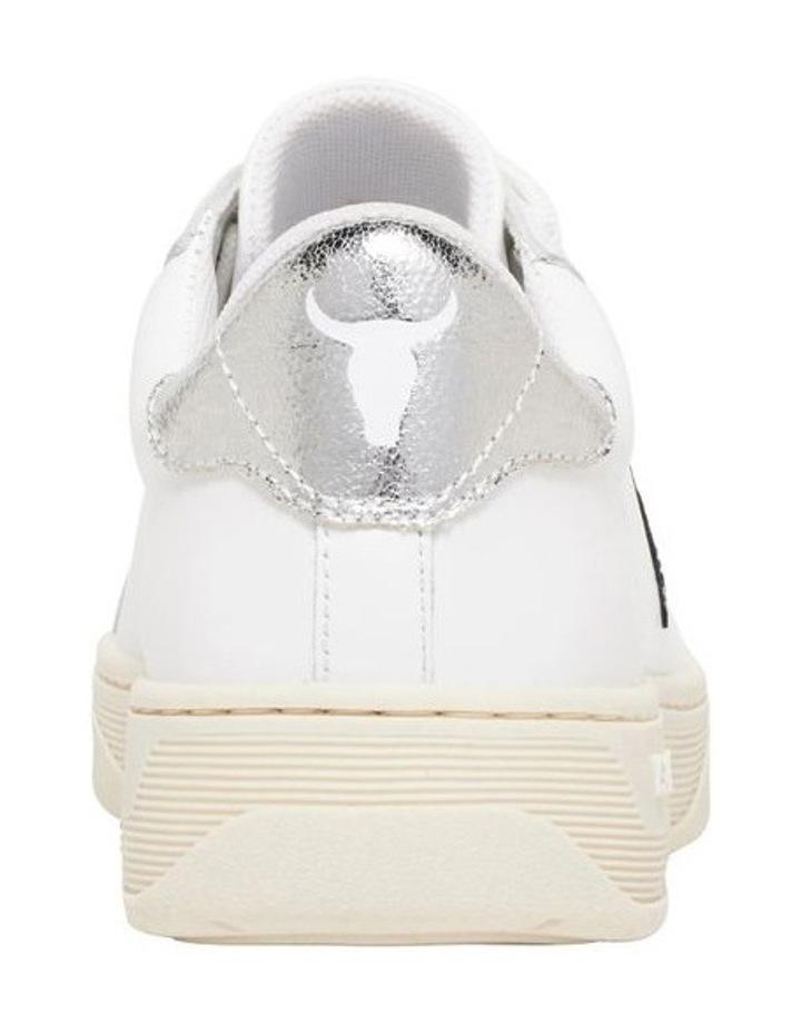 Galaxy-W White Navy Silver Sneaker image 3