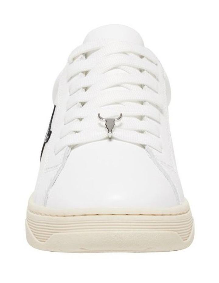 Galaxy-W White Navy Silver Sneaker image 4