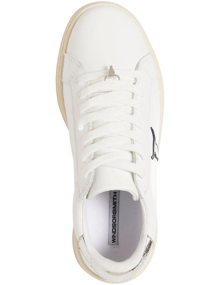 Galaxy-W White Navy Silver Sneaker image 5