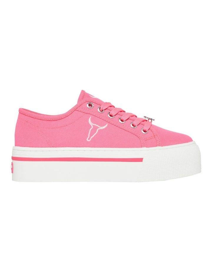 Ruby Neon Pink Sneaker image 1