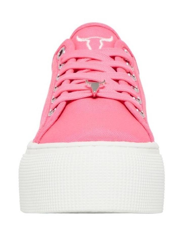 Ruby Neon Pink Sneaker image 5