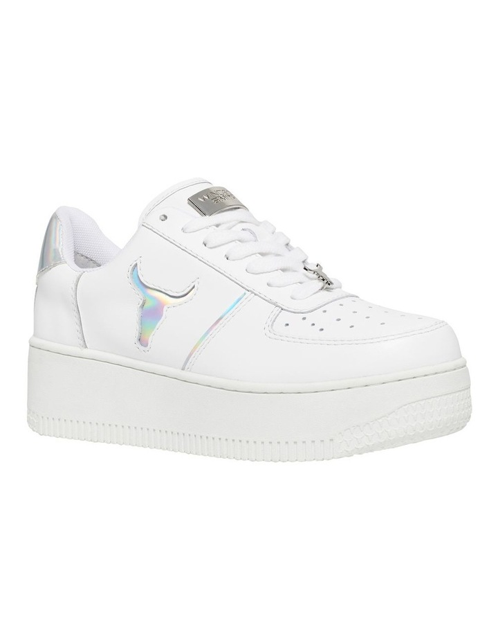 Rosy White And Silver Sneaker image 2