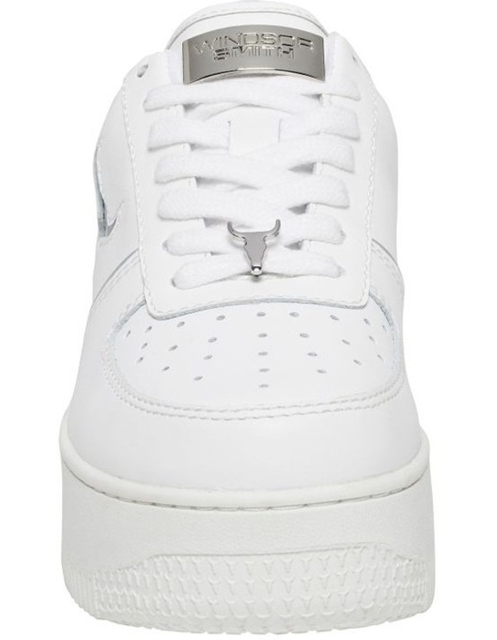 Rosy White And Silver Sneaker image 4