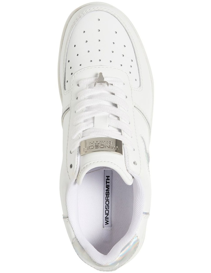 Rosy White And Silver Sneaker image 5