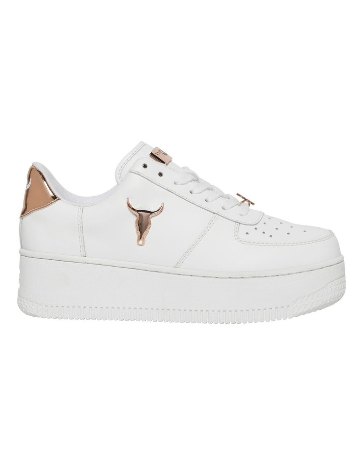 Rich White With Rose Gold Sneaker image 1