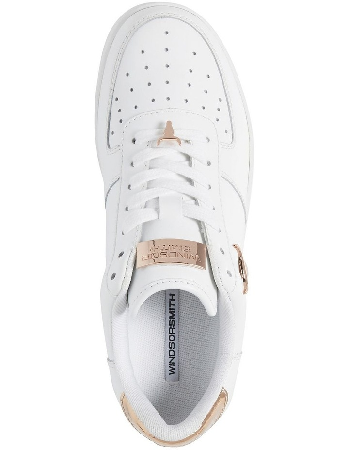 Rich White With Rose Gold Sneaker image 2