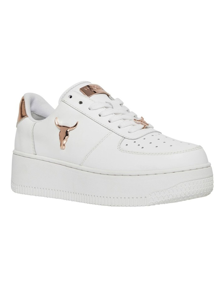 Rich White With Rose Gold Sneaker image 3