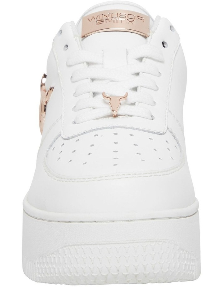 Rich White With Rose Gold Sneaker image 4