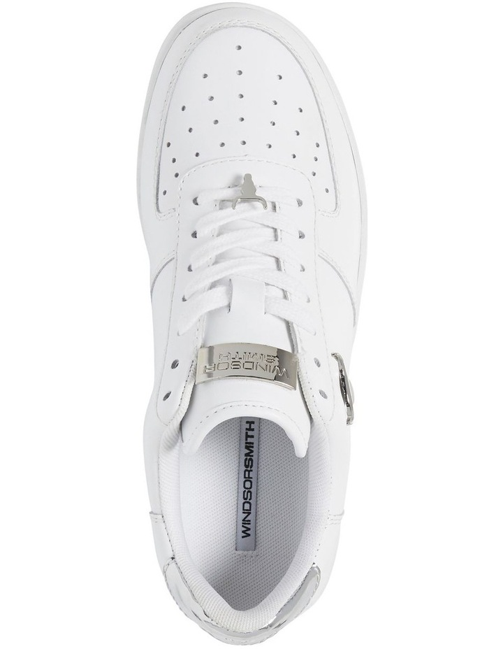 Rich White with Silver Sneaker image 3