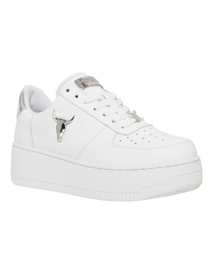Rich White with Silver Sneaker image 4