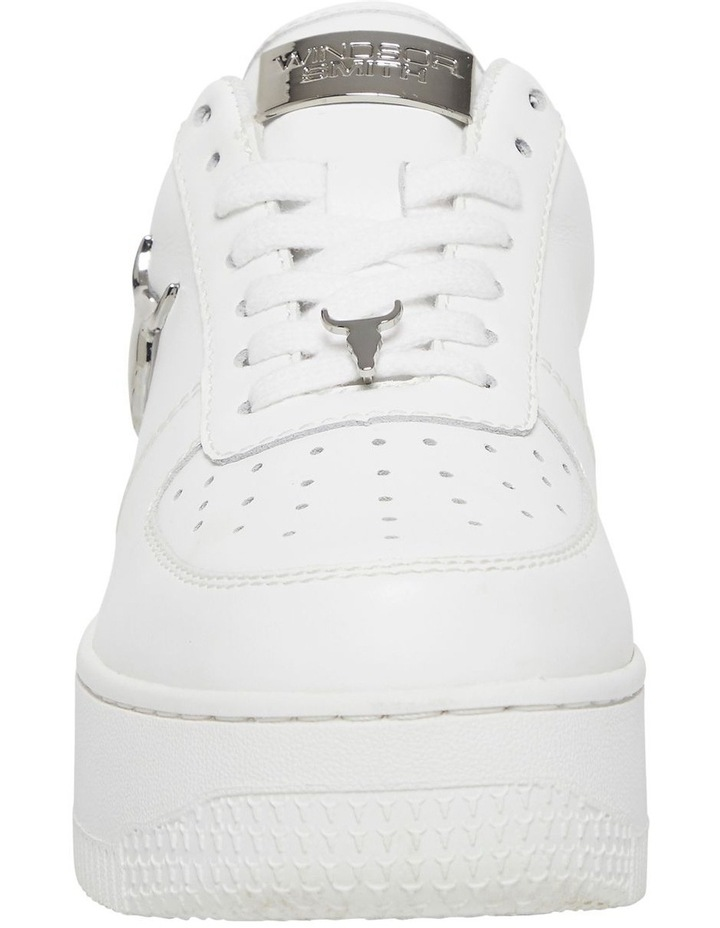 Rich White with Silver Sneaker image 6