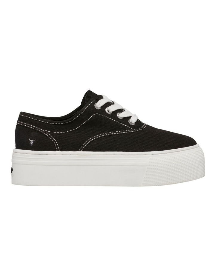 Rekindle Black Canvas Sneaker image 1