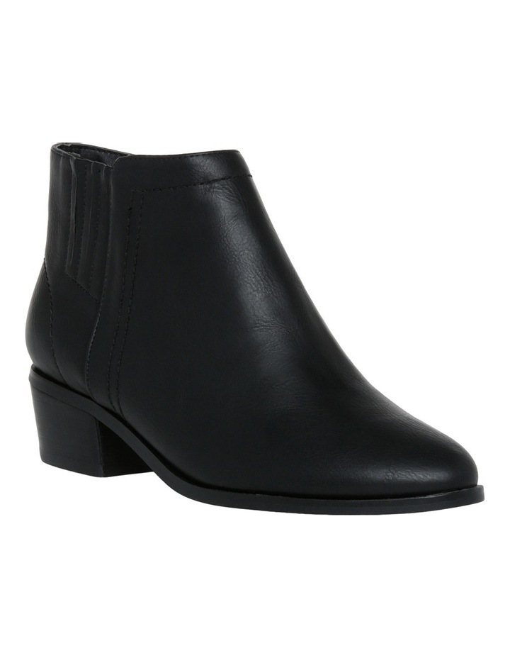 Hilary Black Smooth Boot image 2