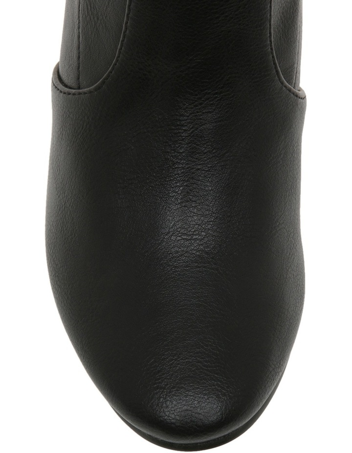 Milo Black Smooth Boot image 6
