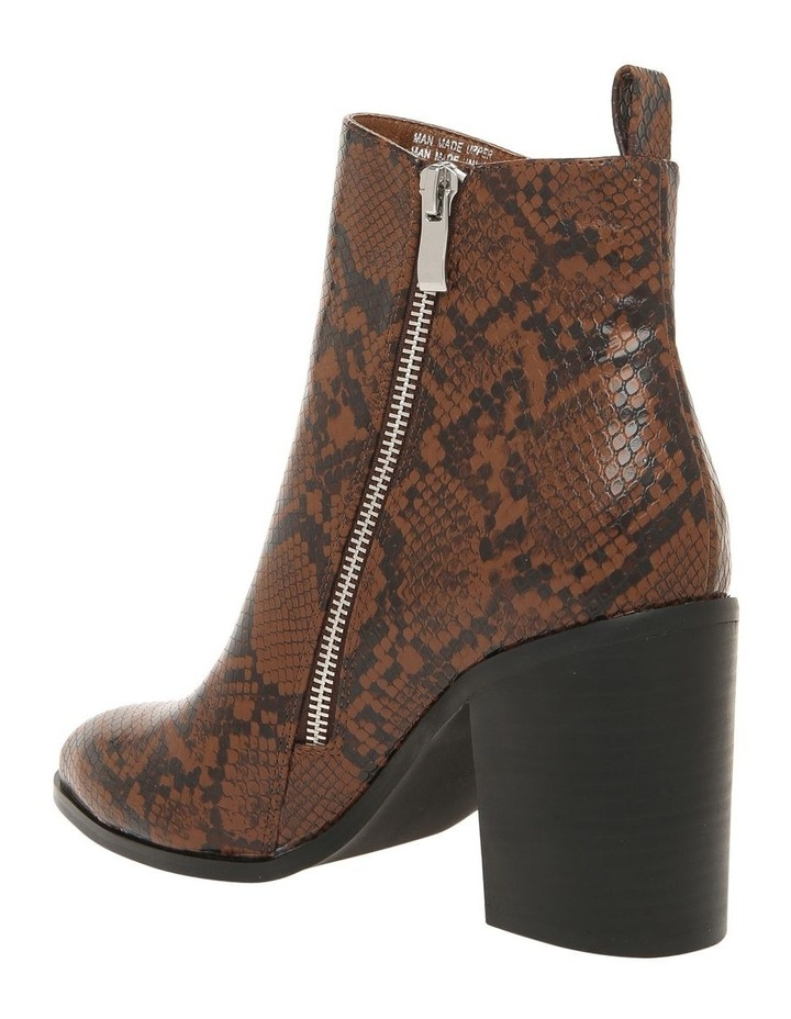 Kendall Chocolate Snake Boot image 2