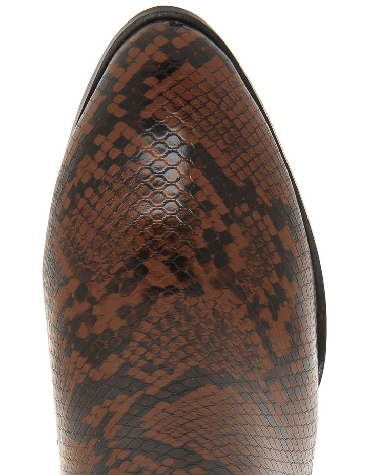 Kendall Chocolate Snake Boot image 3