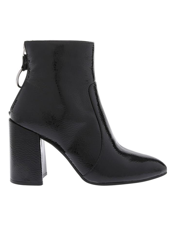 Presley Black Crinkle Patent Boot image 1