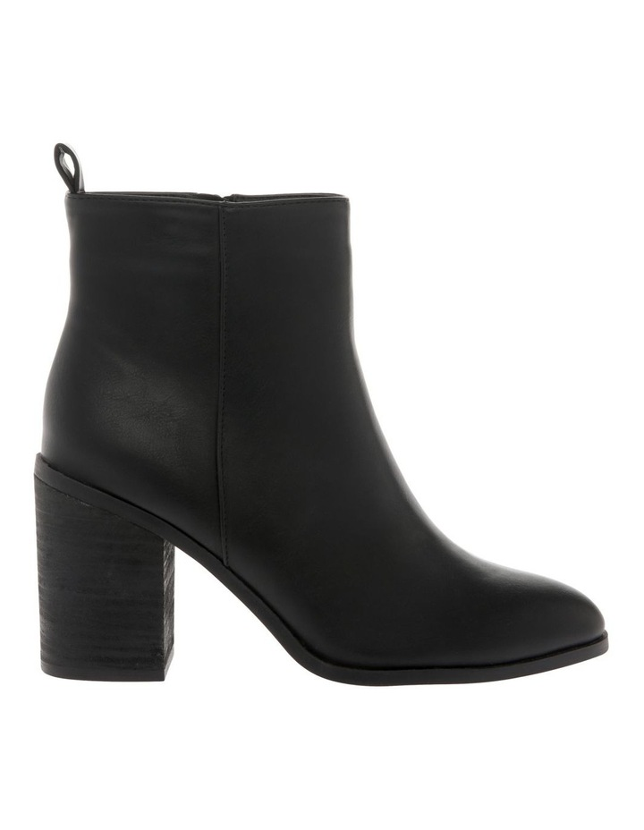 Chester Black Heeled Ankle Boot image 1