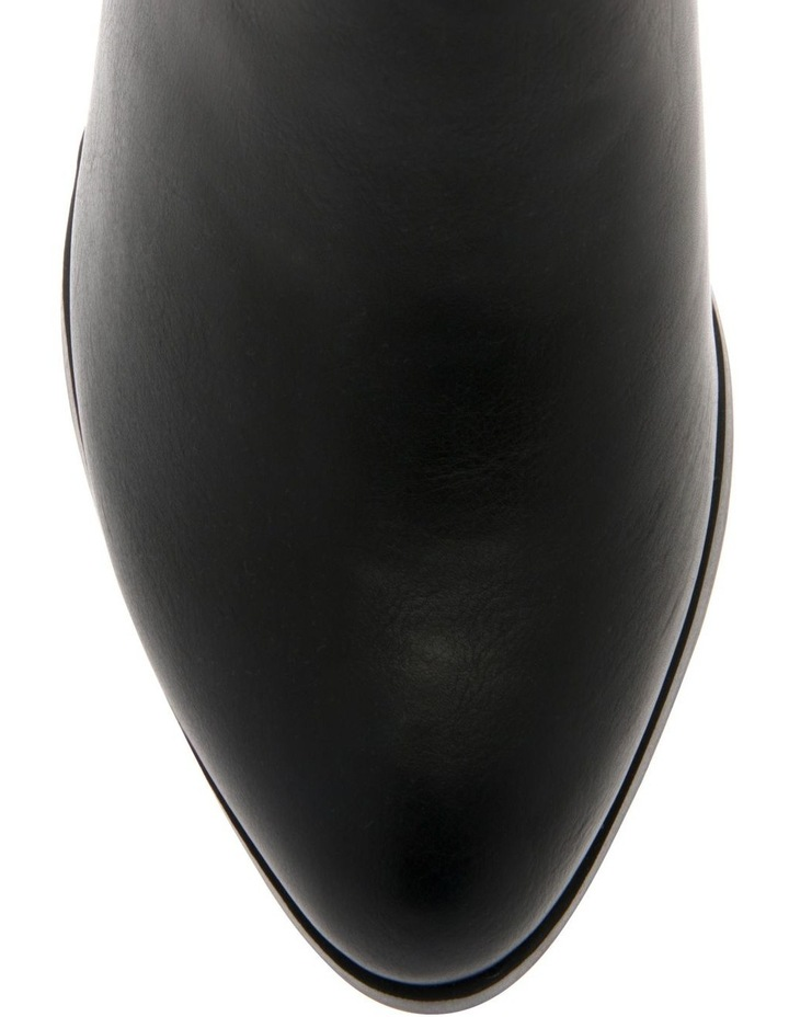 Chester Black Heeled Ankle Boot image 3