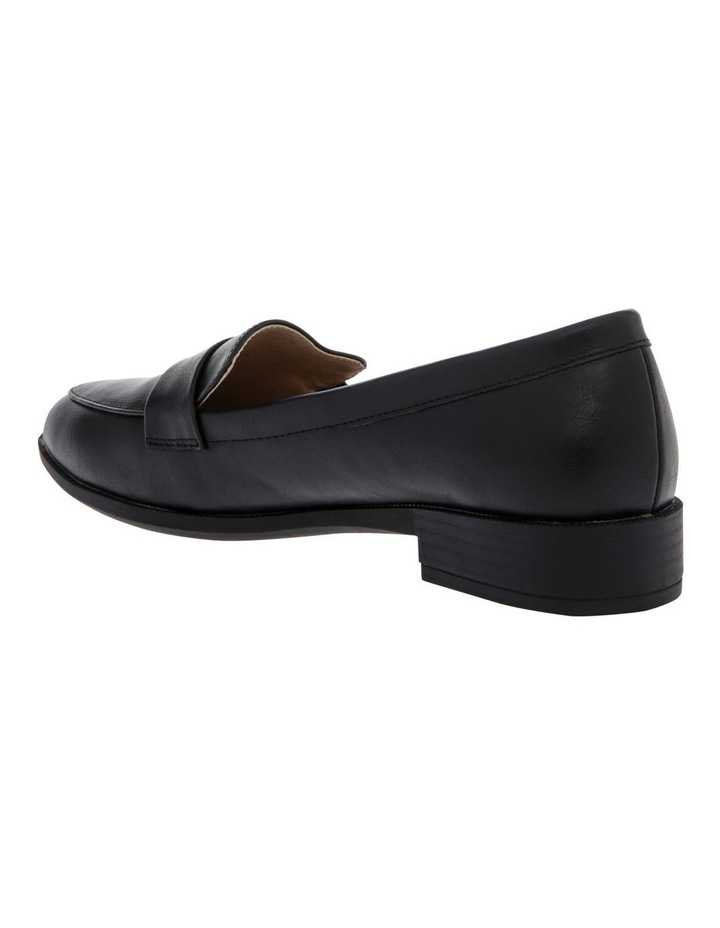 Frank Smooth Black Flat Shoes image 2