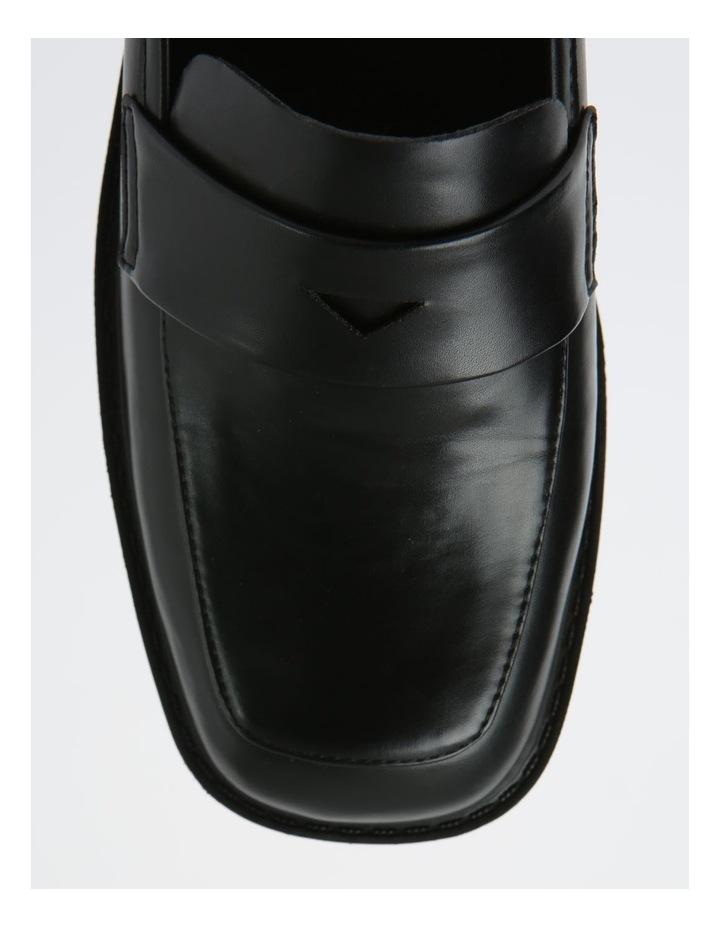 Arlo Black Flat Shoes image 2
