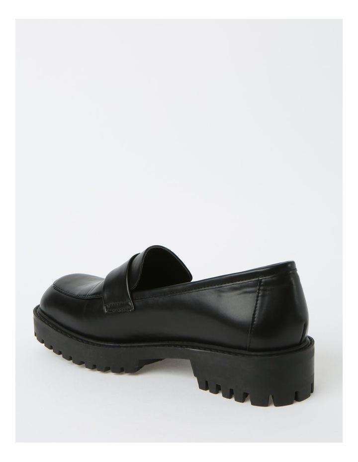 Arlo Black Flat Shoes image 3