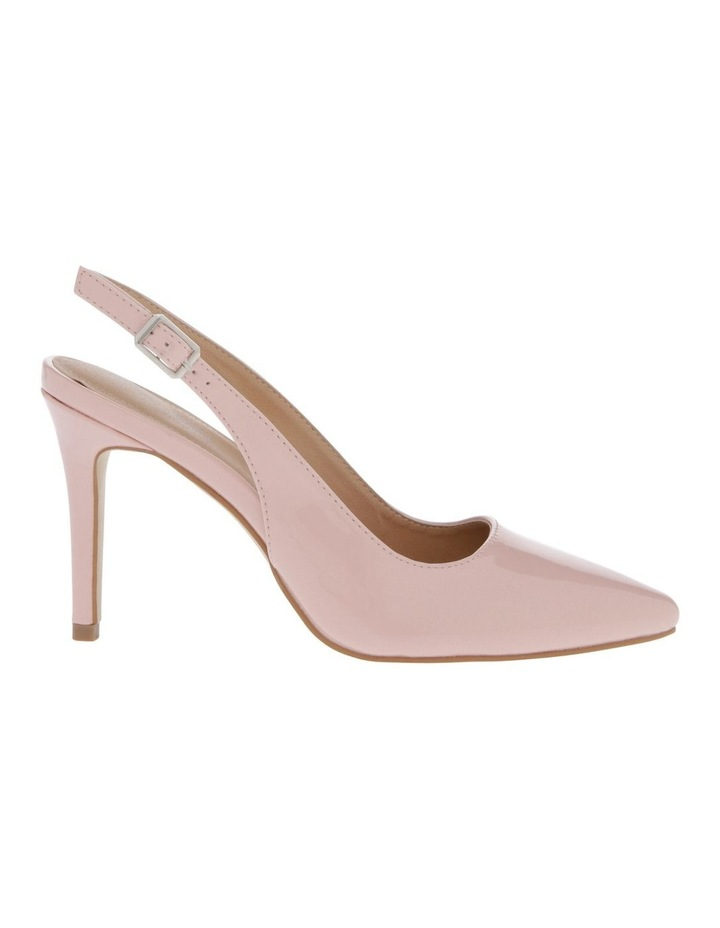 Lulu Blush Patent Heeled Shoes image 1