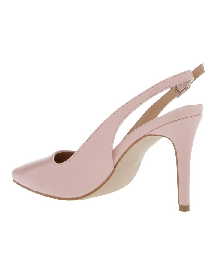 Lulu Blush Patent Heeled Shoes image 2