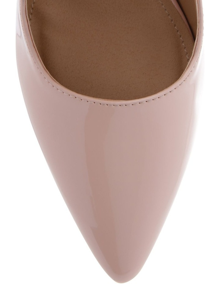 Lulu Blush Patent Heeled Shoes image 3