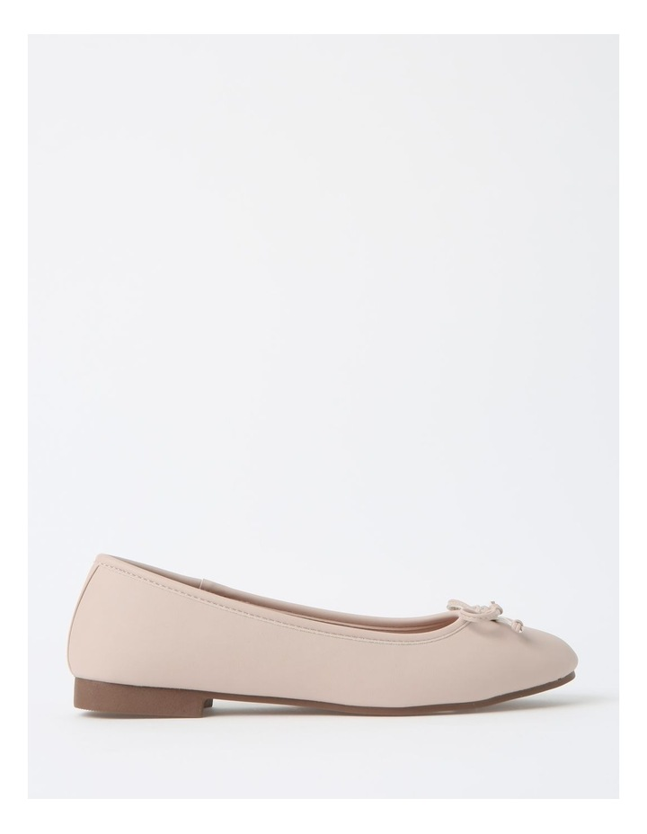 Robyn Beige Flat Shoes image 1