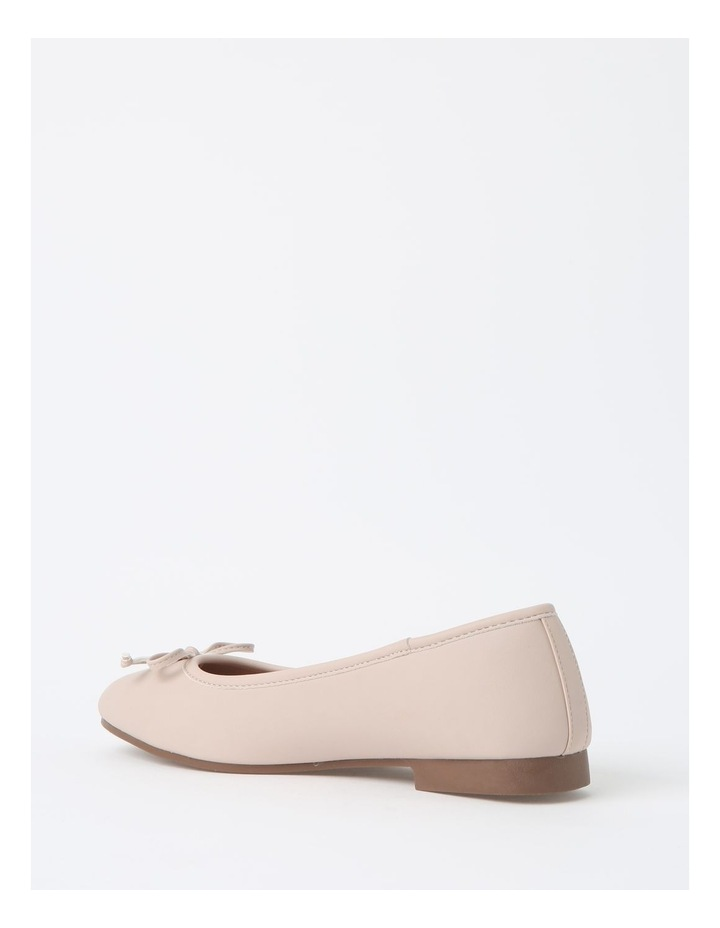 Robyn Beige Flat Shoes image 3