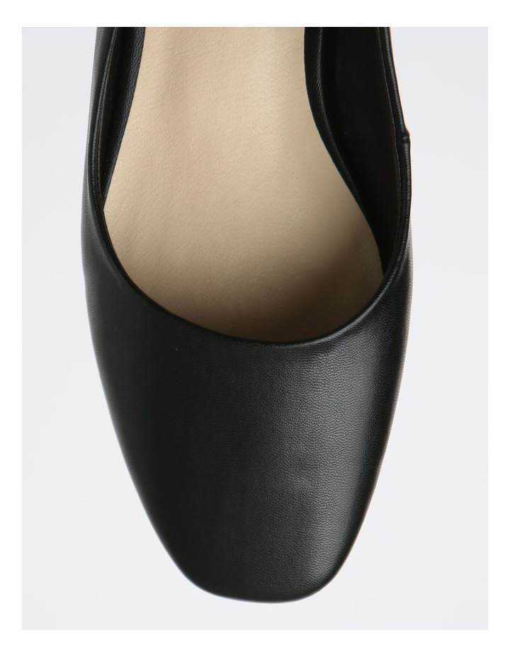 Autumn Black Flat Shoes image 2