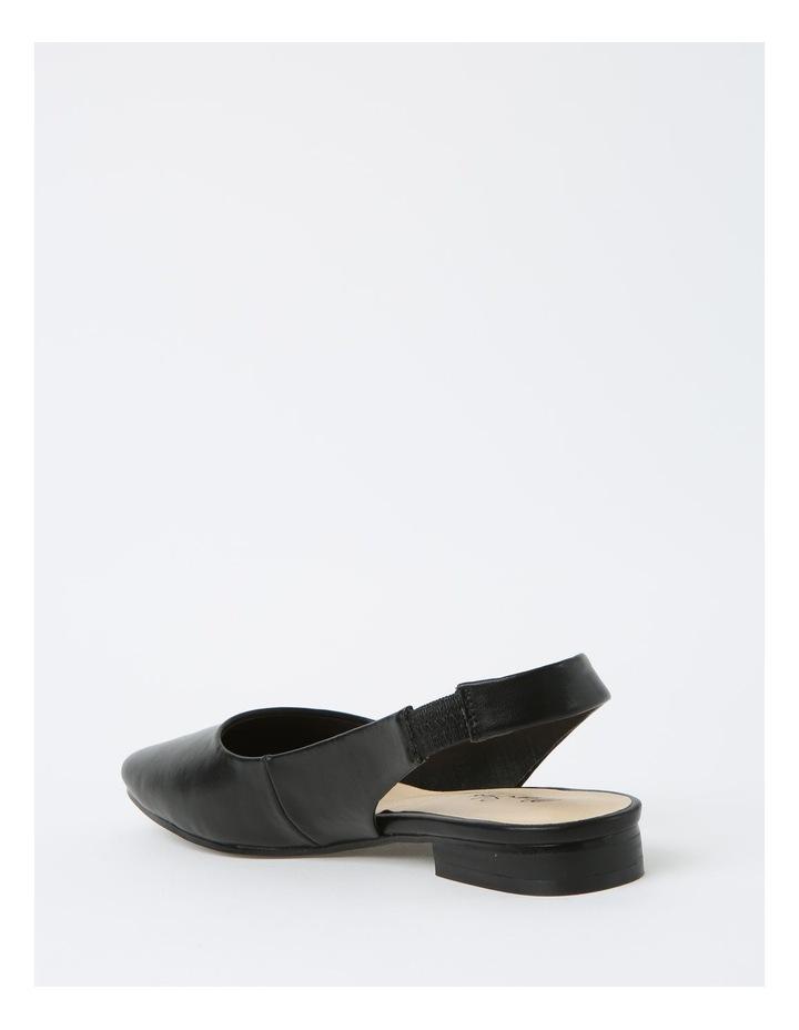 Autumn Black Flat Shoes image 3