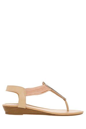 Miss Shop - Starstruck Nude Sandal