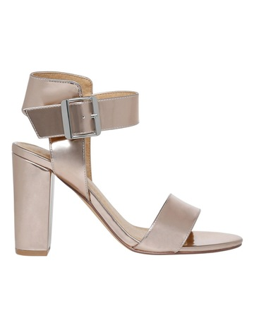 88a0c906d4f Miss Shop Eiffel Rose Gold Sandal