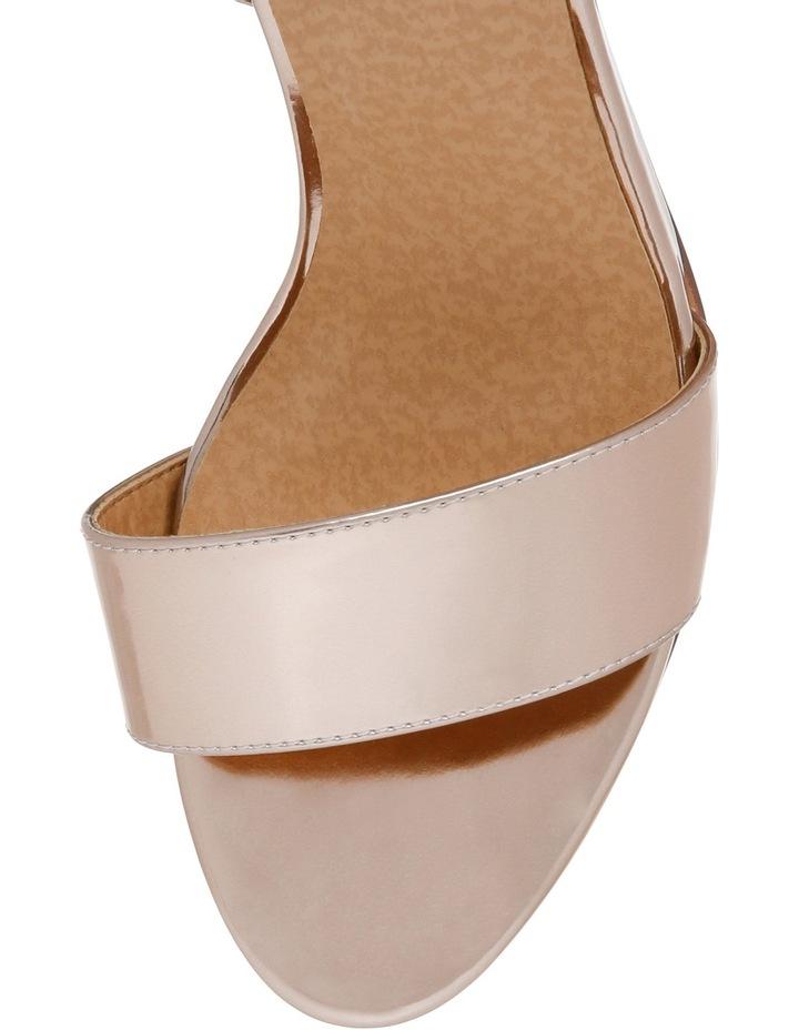 Eiffel Rose Gold Sandal image 4