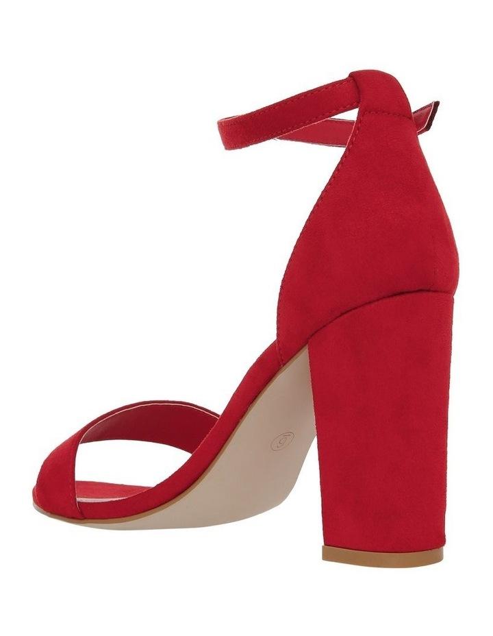 Miss Shop Madison Red Sandal image 3