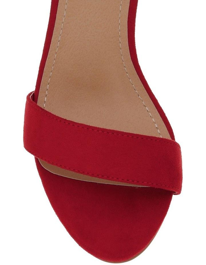 Miss Shop Madison Red Sandal image 5