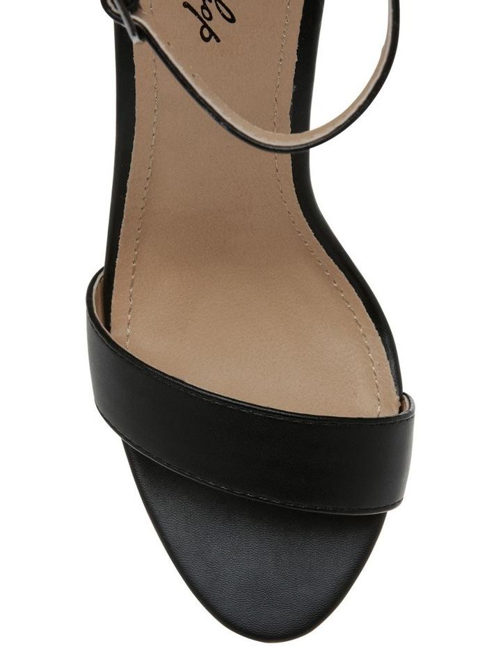 Madison Black Smooth Sandal image 5