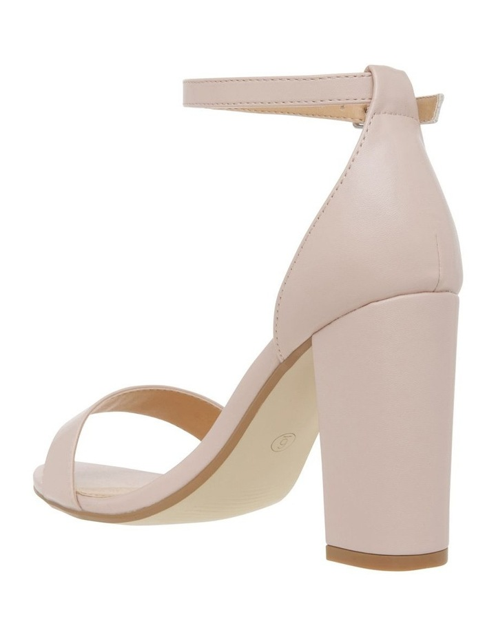 Miss Shop Madison Blush Smooth Sandal