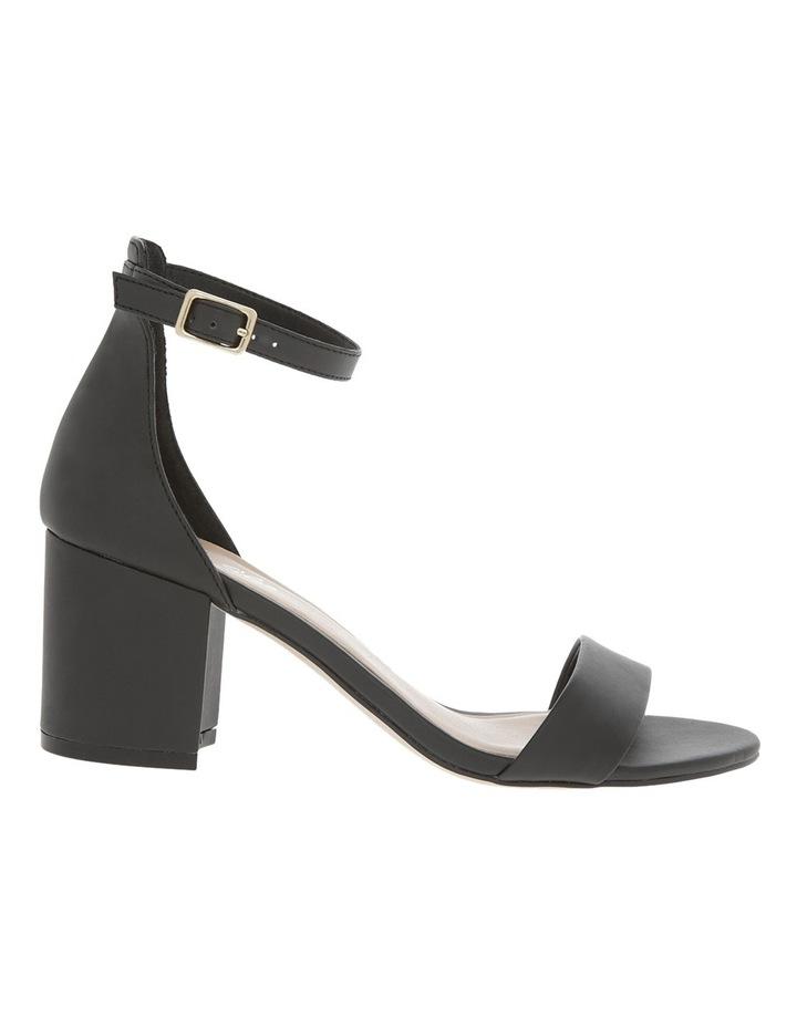 Victoria Black Smooth Sandal image 1