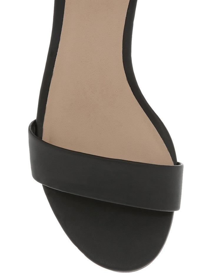 Victoria Black Smooth Sandal image 3