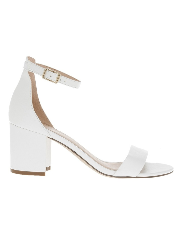 Miss Shop Victoria White Smooth Sandal