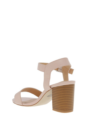 Miss Shop - Beckham Blush Sandal