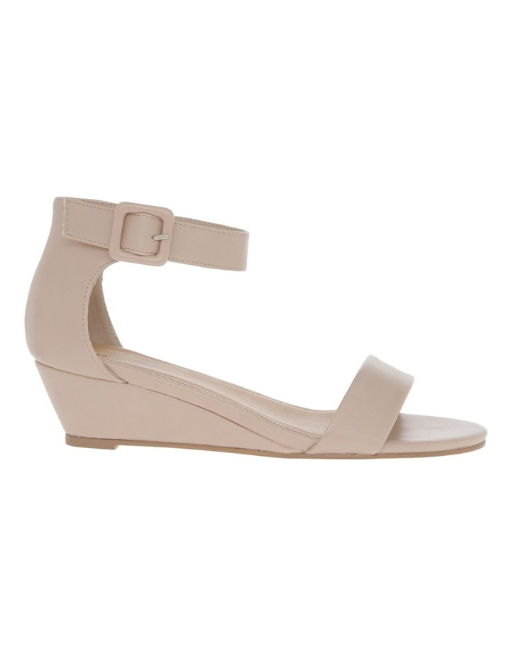Bridgette Blush Wedged Low Heeled Sandal image 2