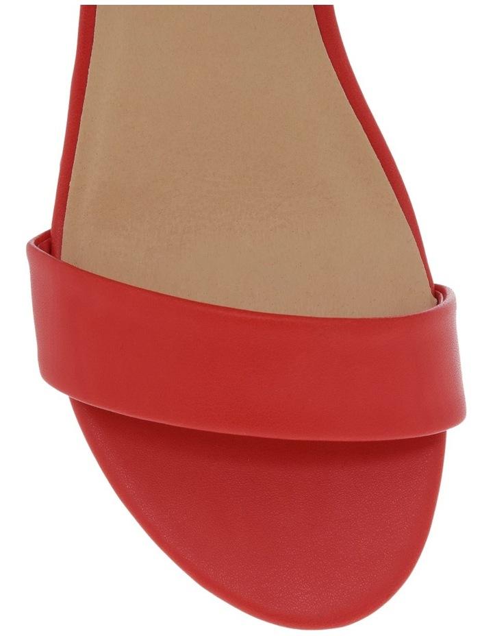 Bridgette Red Sandal image 4