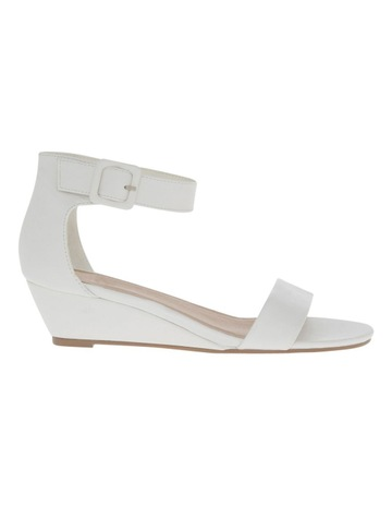 Women's Wedge Sandals   Low, Leather