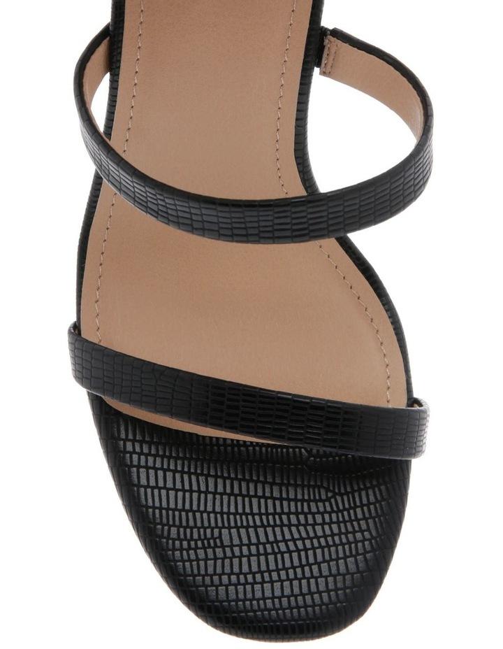Selena Black Sandal image 3